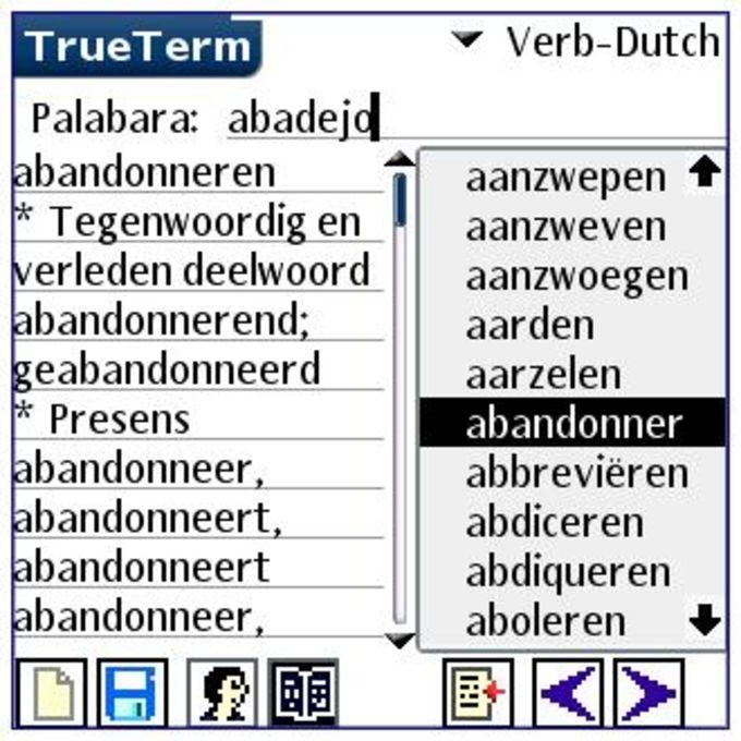 Spanish/Dutch-Special PalmOS