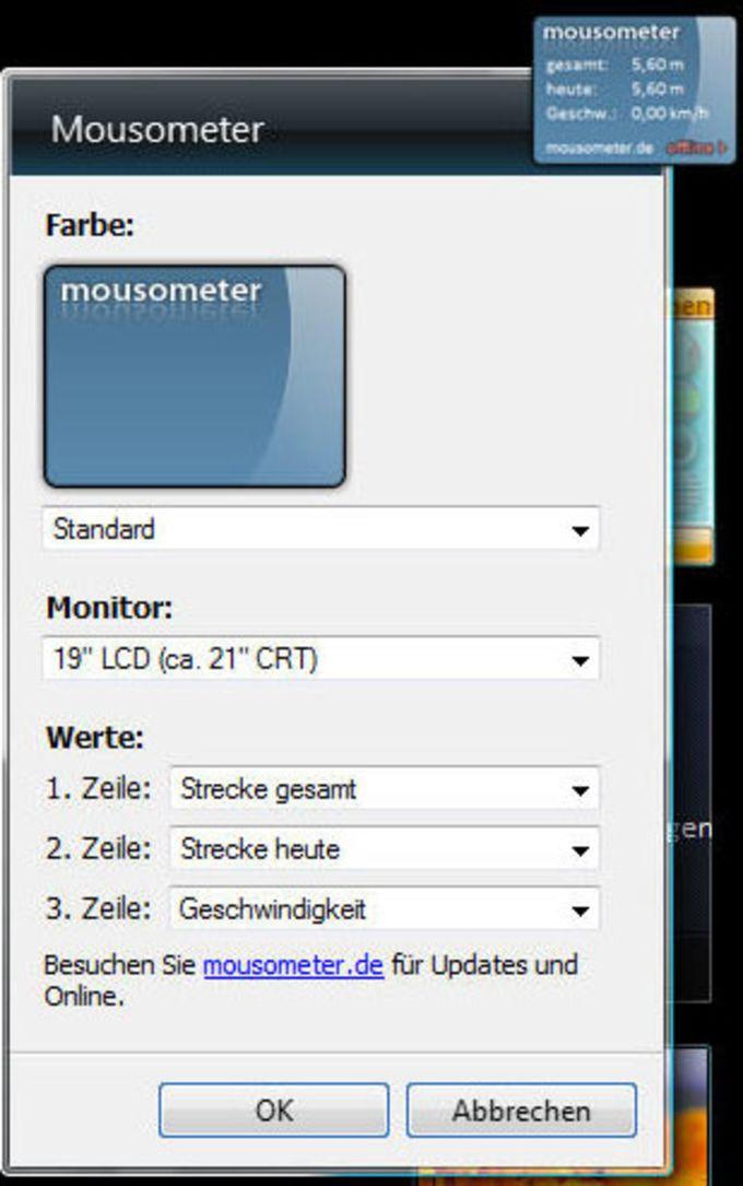 Mousometer Gadget
