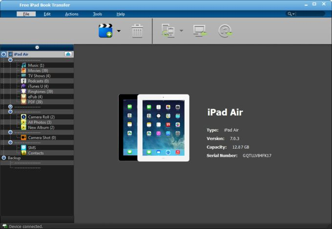 Free iPad Book Transfer