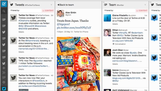 TweetDeck para Chrome