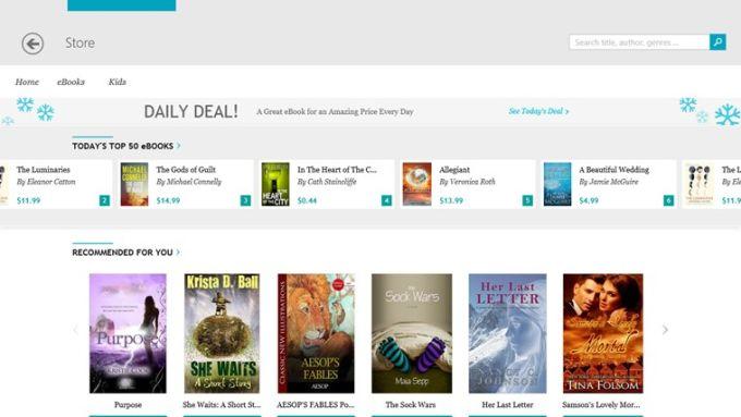 kobo Books for Windows 10