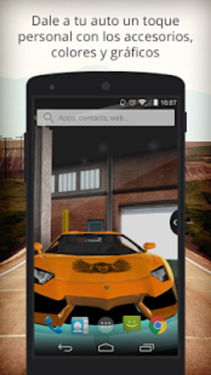 UR 3D Lamborghini Live Theme