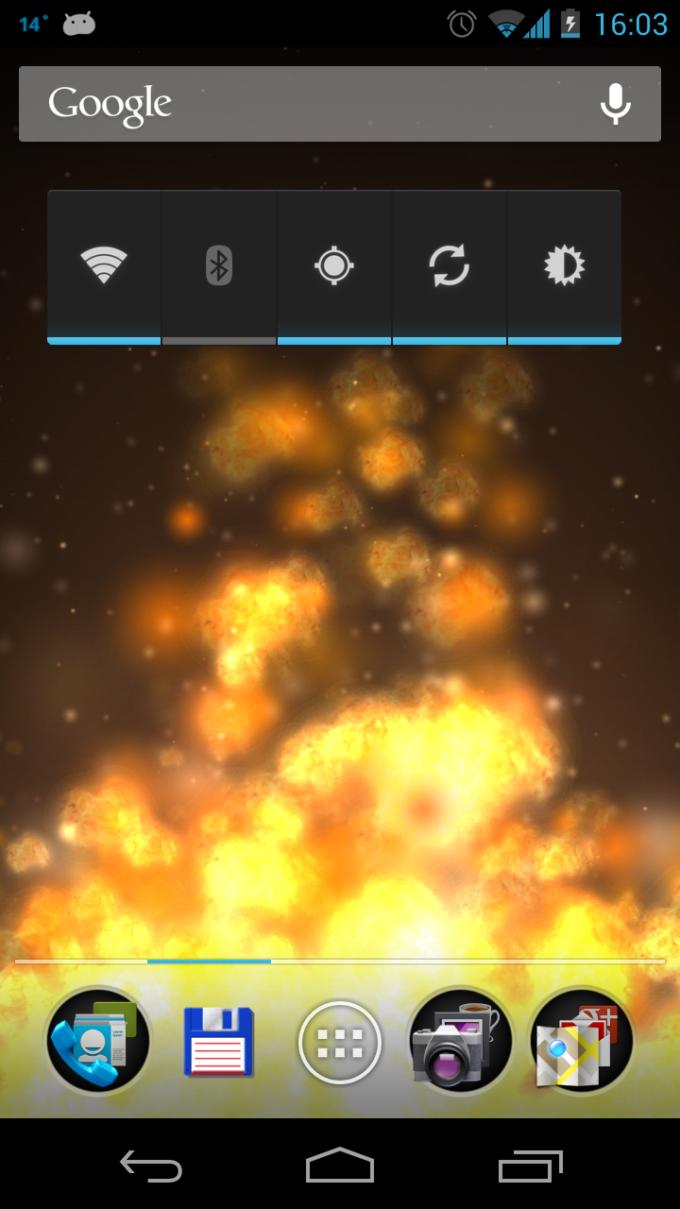 Flame 3D Live Wallpaper
