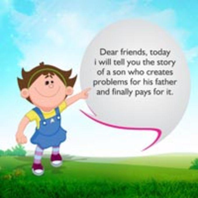 Children stories picnic pig