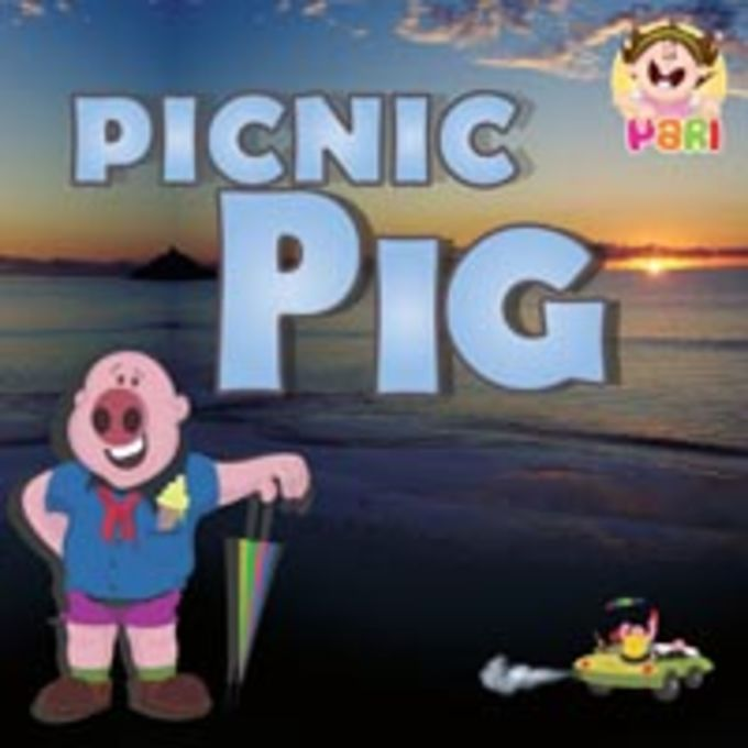 Children stories picnic pig