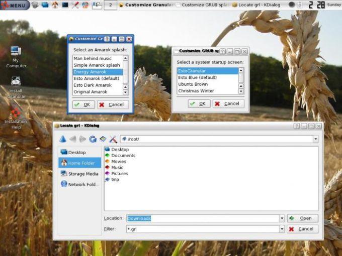 Granular Linux