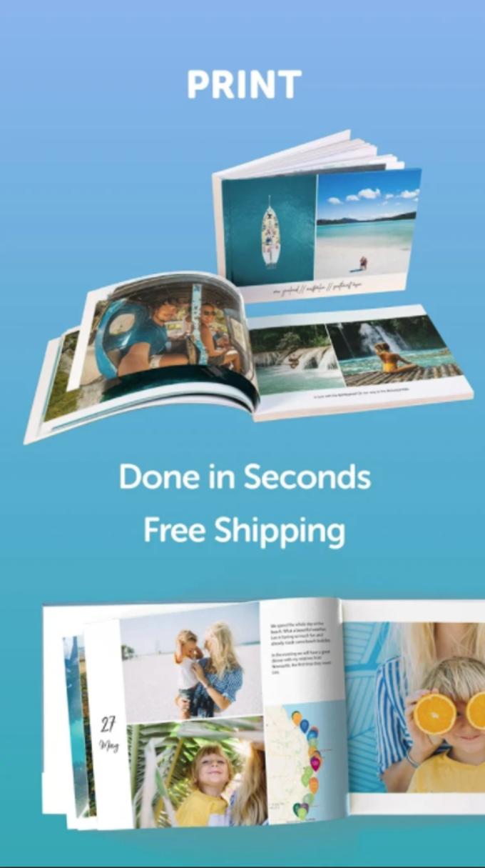 journi - Private Travel Journal & Photo Book