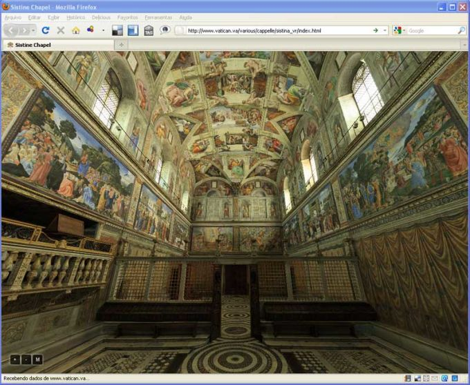 Visita Virtual da Capela Sistina