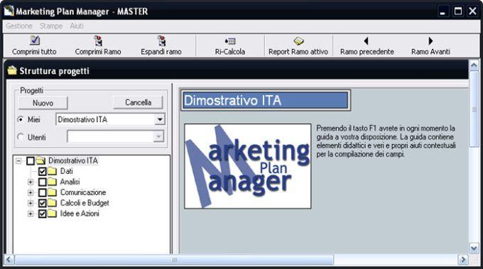 Marketing Plan Manager