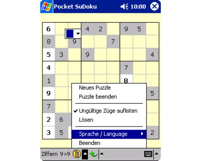 Pocket SuDoku