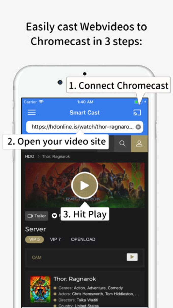 Smart Cast for Chromecast