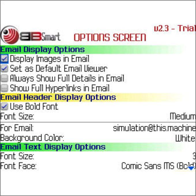 BBSmart Email Viewer