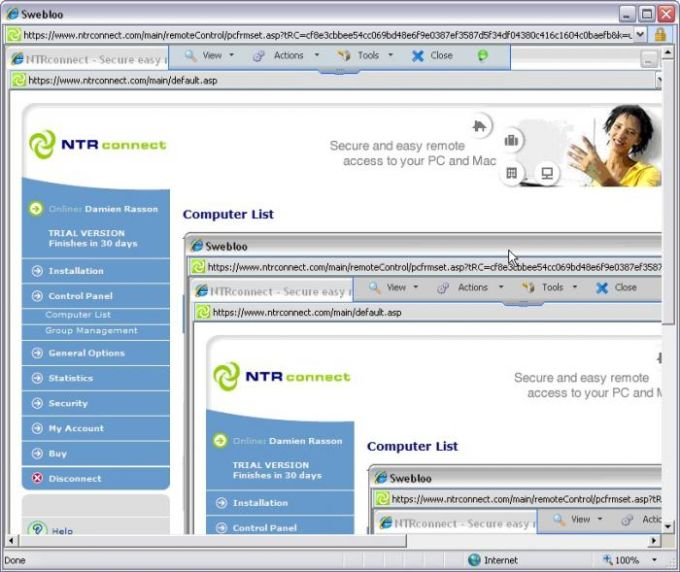 NTRconnect