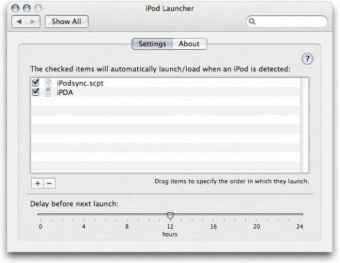 iPod Launcher