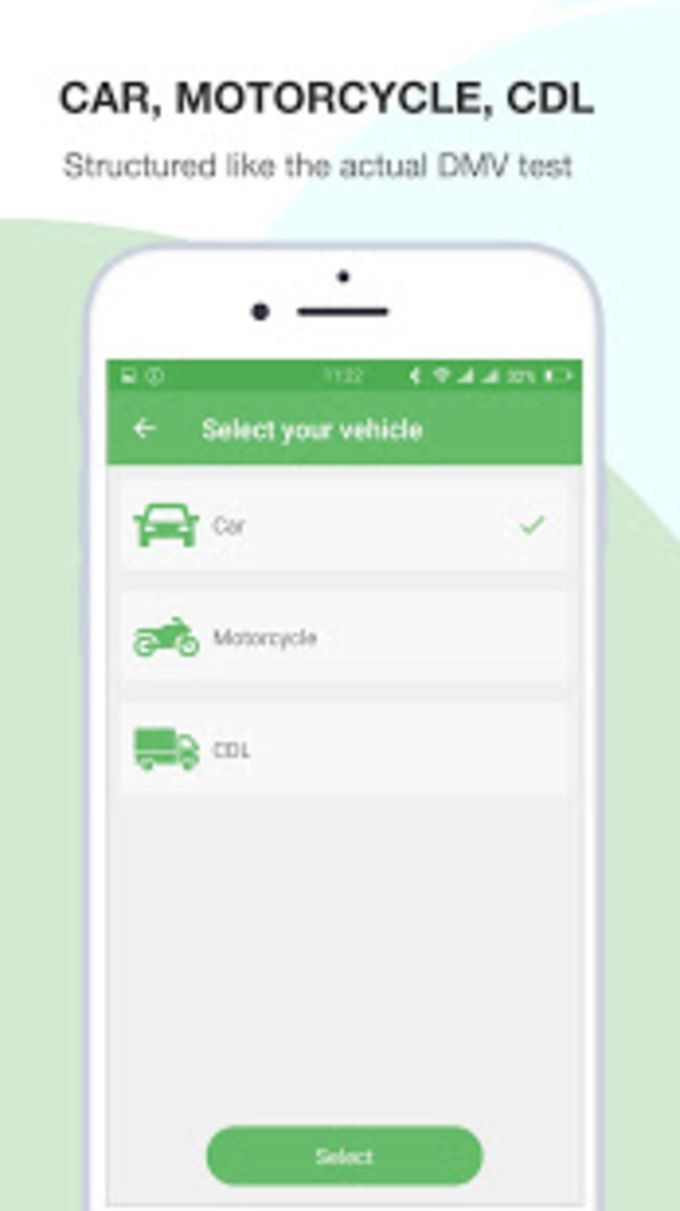 DMV Permit Test Car Motorcycle and CDL for Android - Download