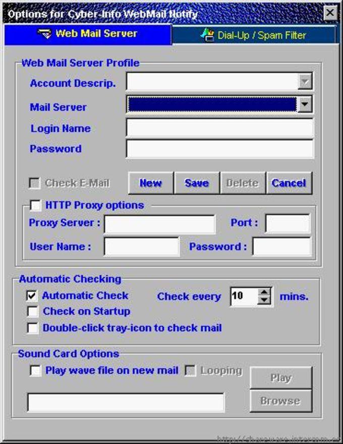 Cyber-Info Webmail Notify
