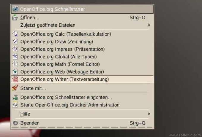 OpenOffice.org Quickstarter
