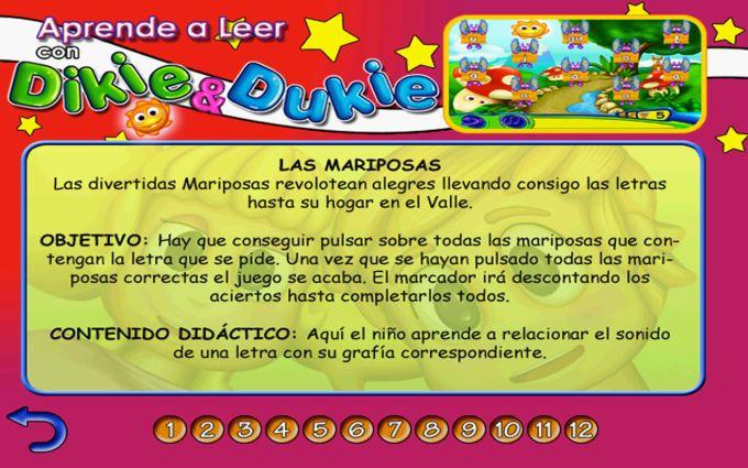 Aprender a Leer, juego para niños