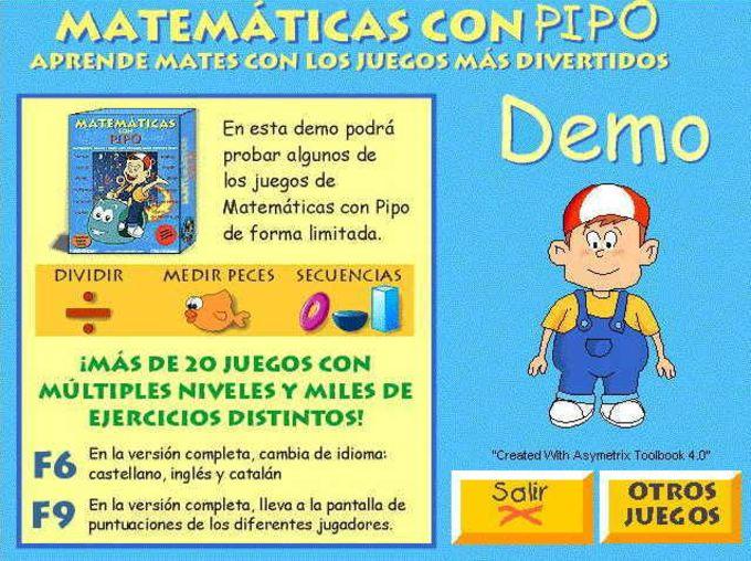 Matemáticas Con Pipo