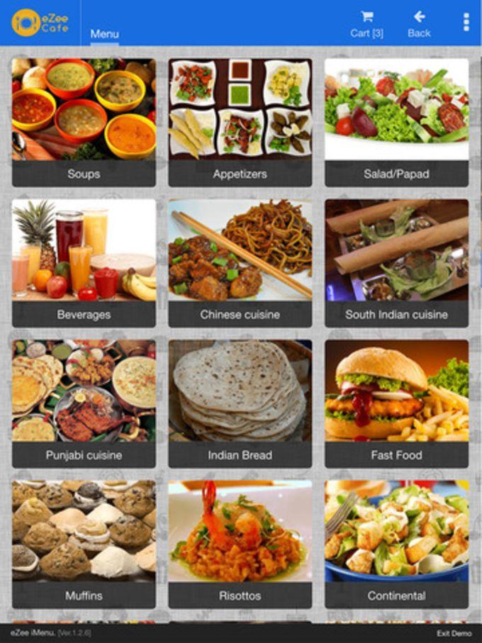 eZee iMenu - Digital Restaurant Tablet Menu