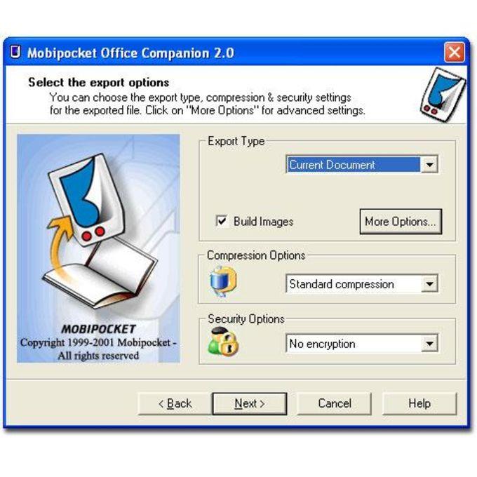 Mobipocket Office Companion PDA