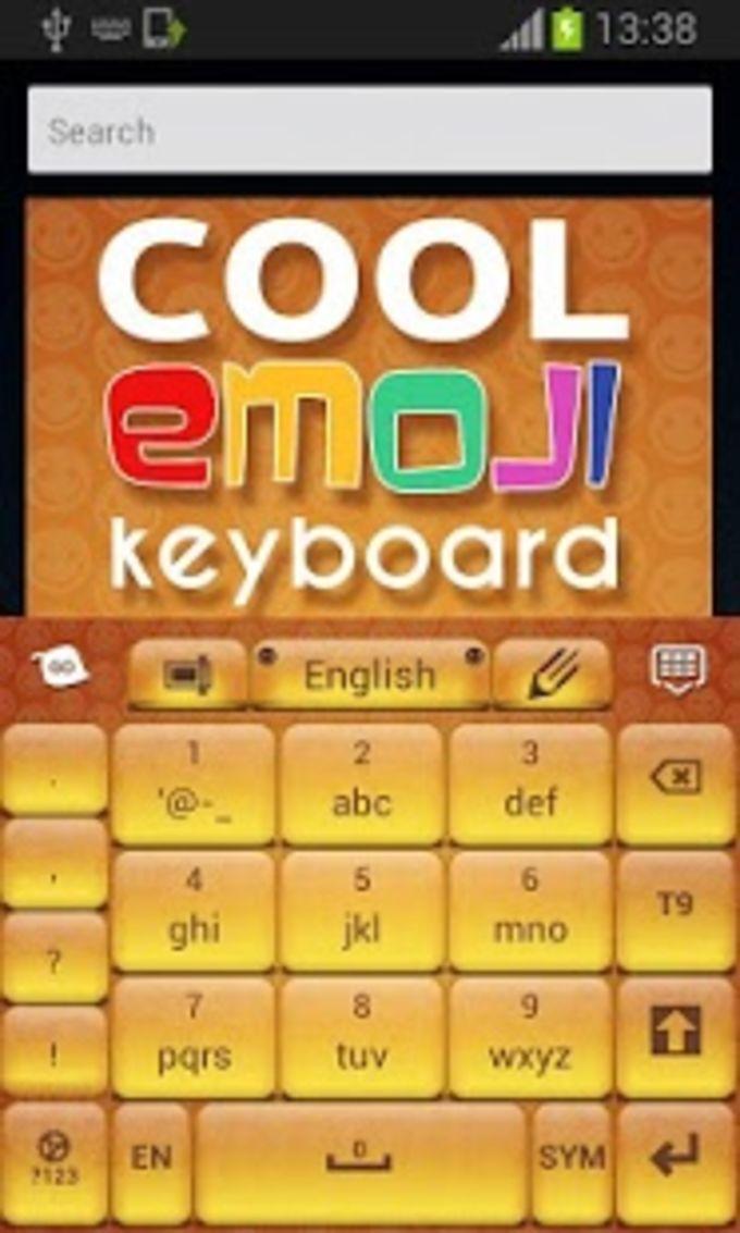 Teclado fresco con Emoji