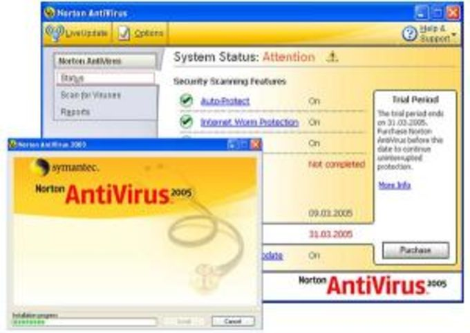 Norton Antivirus DAT Update