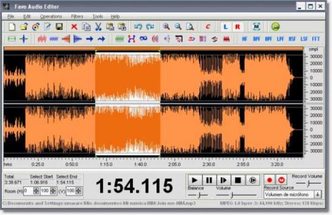 Favo Audio Editor