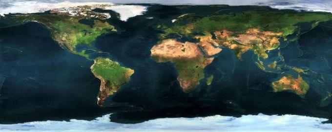 Fond d'écran double – Le monde