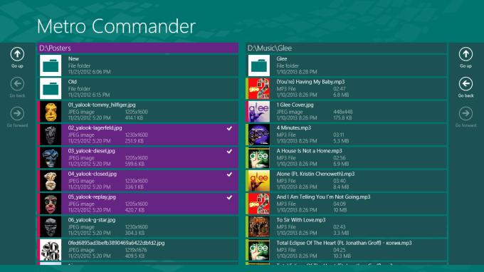 Metro Commander for Windows 10