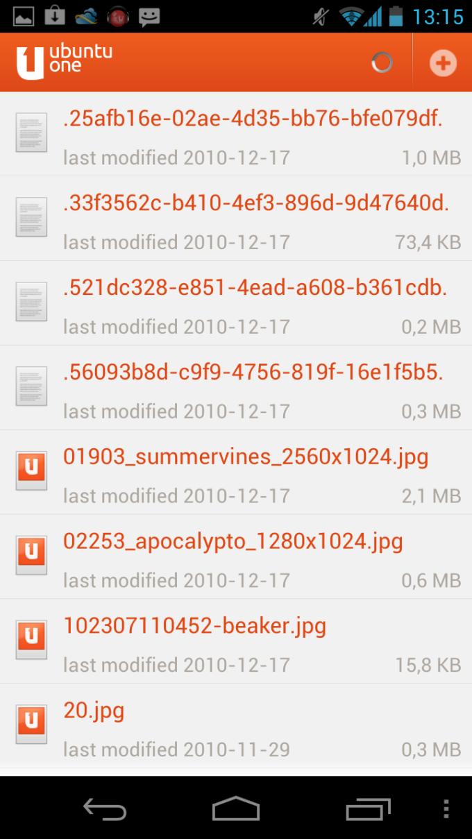 Ubuntu One Files