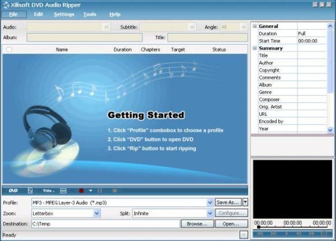 Xilisoft DVD Audio Ripper