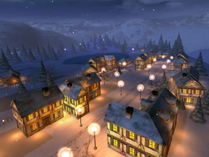 Winter Night 3D