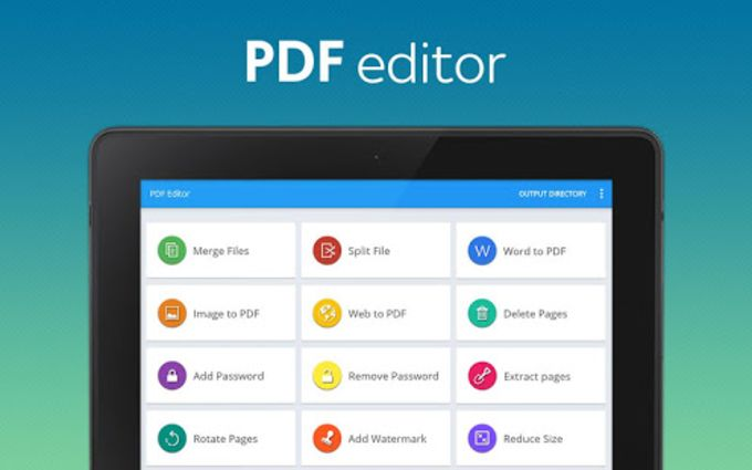 PDF converter pro PDF editor - pdf merge for Android - Download