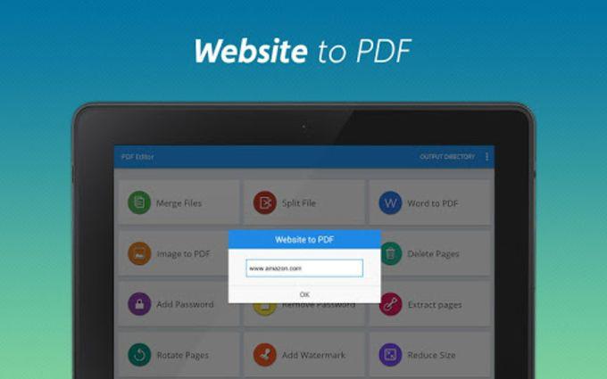 PDF converter pro  PDF editor - pdf merge
