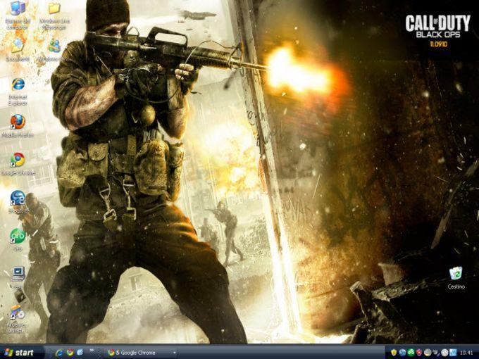 Call Of Duty Black Ops Papel De Parede