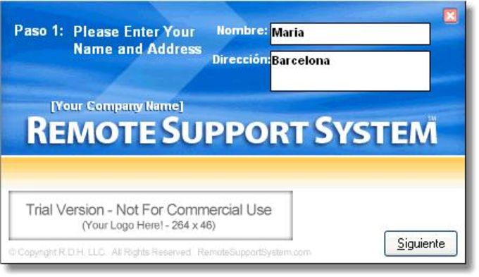 Remote Support System
