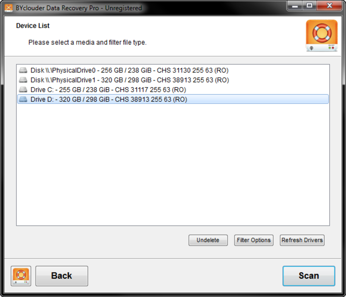 BYclouder Data Recovery Pro