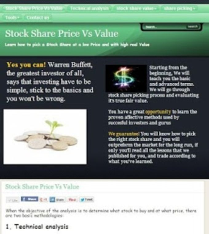 Stocks Investment course FREE