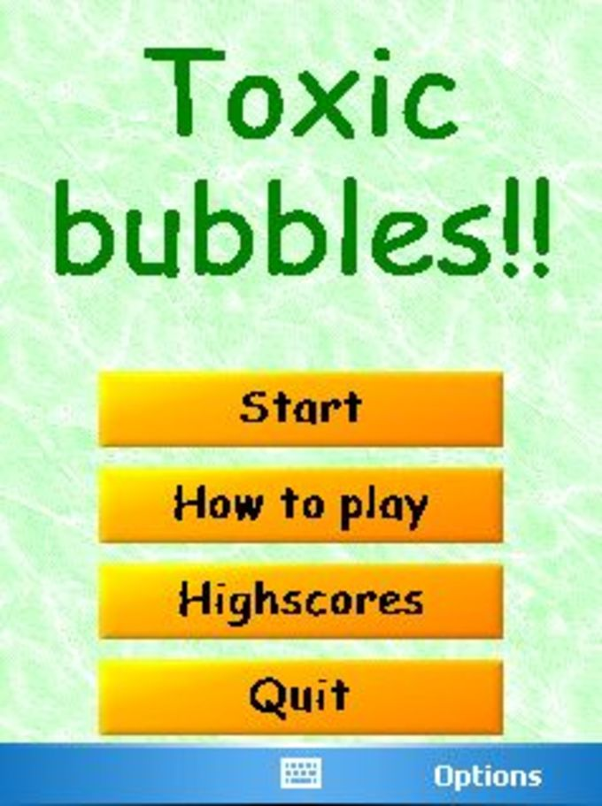 Toxic Bubbles