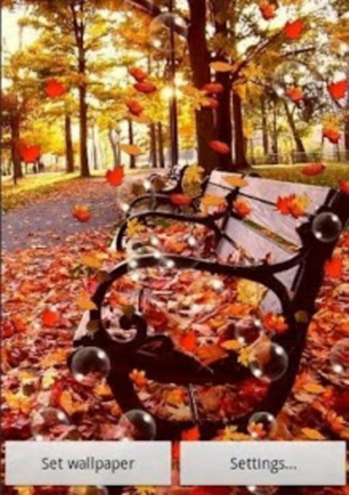 Autumn Live Wallpaper Free