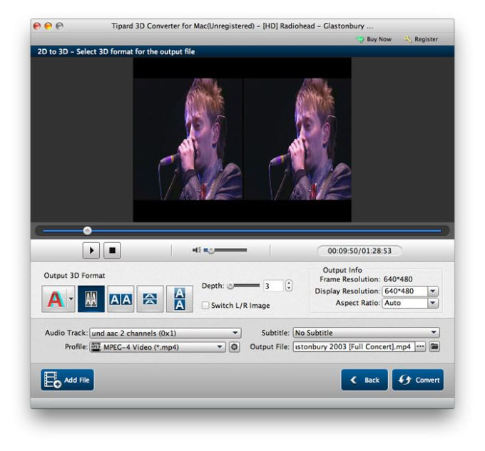 Tipard 3D Converter for Mac