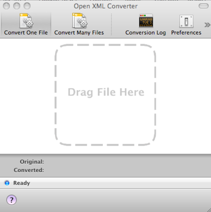 Microsoft Office Open XML File Format Converter for Mac