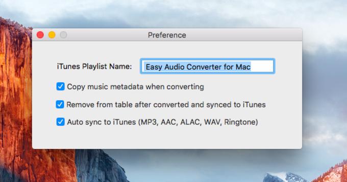 Easy Audio Converter for Mac
