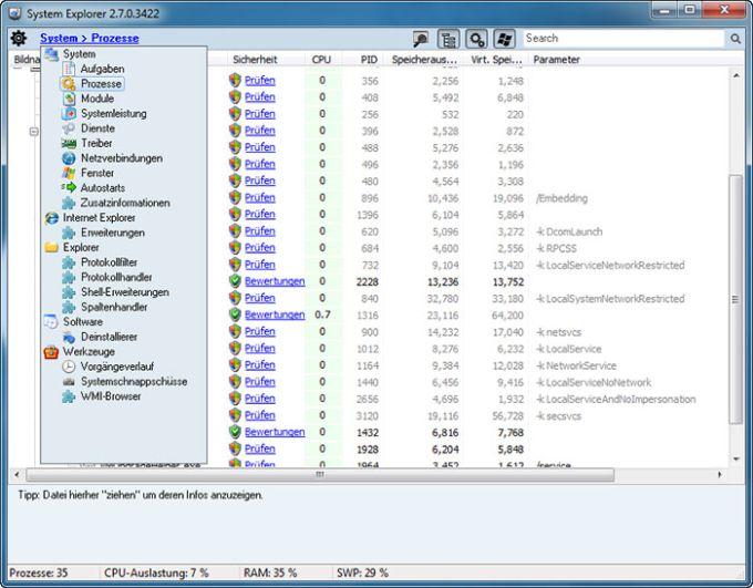 System Explorer Portable