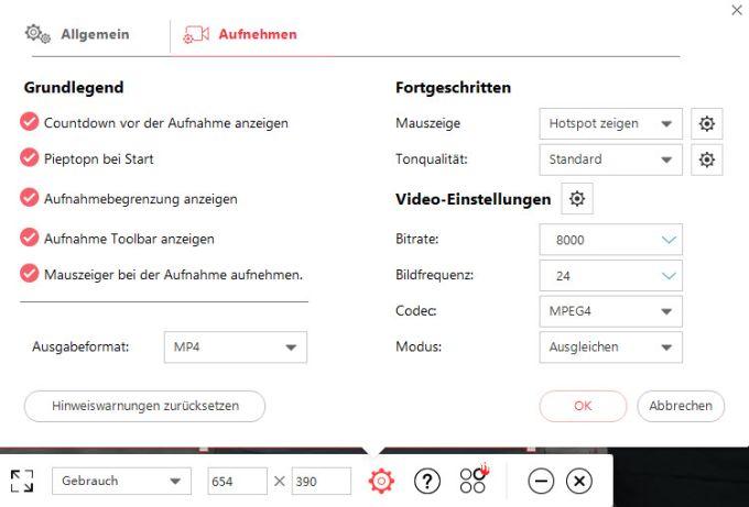 ShowMore - Kostenloser Bildschirm Recorder