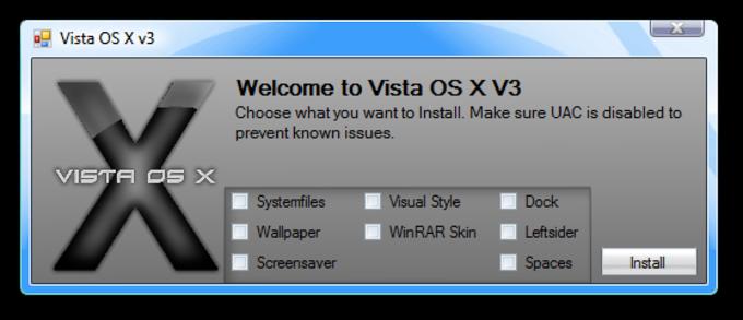 Vista OS X