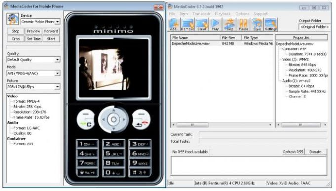 MediaCoder Mobile Phone Edition