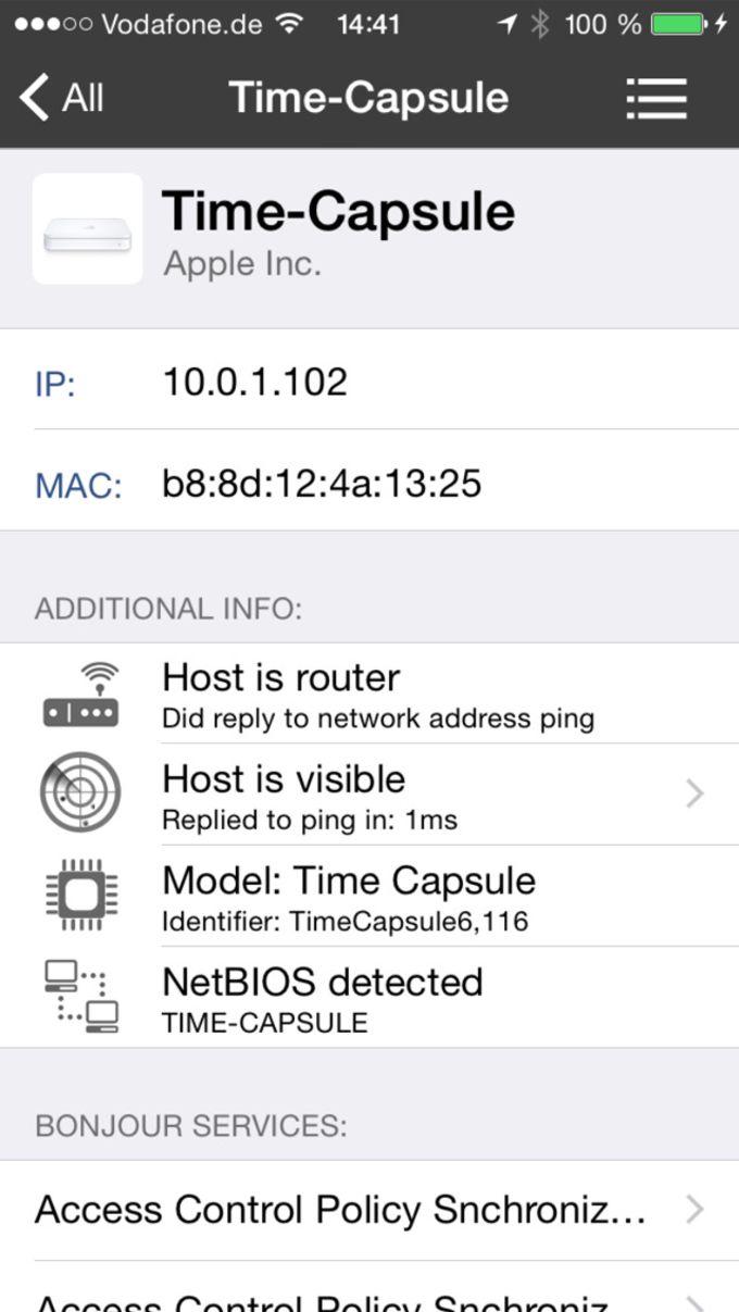 iNet - Network Scanner