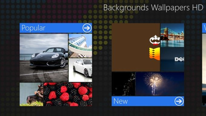 Backgrounds Wallpapers HD für Windows 10